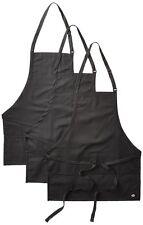 3PACK Dickies Chef Three Pocket Adjustable Bib Apron DC512