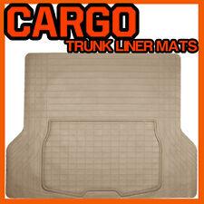 Fits MAZDA TRIBUTE RUBBER CARGO TRUNK LINER MAT (BEIGE) / MT-1009BK