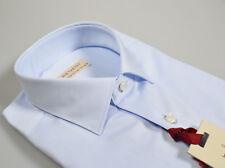Camicia Regent by Pancaldi Regular Fit Celeste chiaro puro Cotone alto pregio