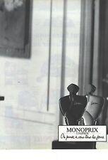 PUBLICITE 1990   MONOPRIX parfum LAURENA