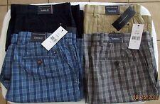 Tommy Hilfiger Flat Front Classic Fit Shorts (Assorted solids & plaids) Men's Sz