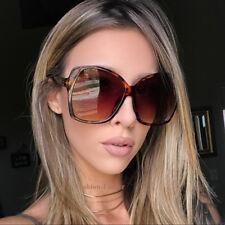 Oversized XL Large Glossy ELIA Square Jackie O WaYf Butterfly Vintage Sunglasses