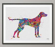 Hungarian Vizsla 2 Dog Watercolor Print Dog Pet Print Dog Poster Vizsla Dog Art
