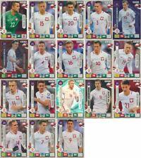 PANINI ADRENALYN XL Road to World Cup 2018-SQUADRA POLONIA scegliere a