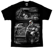 Dreaming Casually Lowrider Homies Chicano Art David Gonzales DGA T Shirt