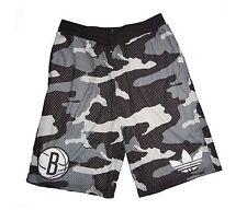 Brooklyn Nets Baketballhose Shorts NBA Camouflage Adidas XS S M L