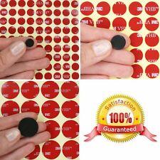 BLACK 3M VHB Acrylic Foam Tape CIRCLES ~ Selfadhesive Dots Pads ~ 0.64mm Thick