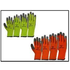GREEN JEM HI VIZ WINTER  WORKING GLOVES LARGE/MEDIUM/X-LARGE (Green & Orange)
