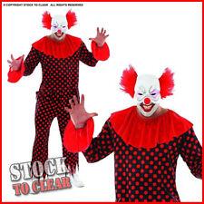 Adult Scary Male Clown - It 's Halloween
