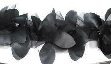 Chifón pétalos de flores de encaje de corte Cinta de Tela, Boda, Costura, Artesanía, Floral