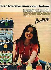 """PUBLICITE  1970   PSCHITT  soda """"entre les 5 """""""