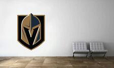 Vegas Golden Knights Logo Wall Decal NHL Hockey Decor Sport Vinyl Mural Sticker