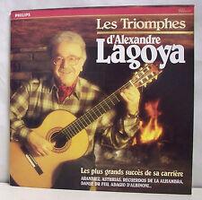 """33 tours ALEXANDRE LAGOYA Disque LP 12"""" LES TRIOMPHES Guitare - PHILIPS 426868"""