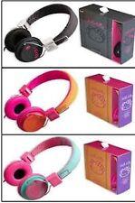 Hello Kitty Stereo Kopfhörer Headset verschiedene Farben im Geschenkkarton NEU