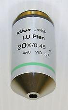 Nikon CFI LU Plan EPI 20X Microscope Objective -New