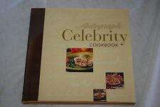Autograph Celebrity Cookbook Hardcover