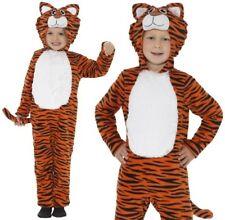 Bambini Costume da Tigre Bambini Festa Del Libro Animale Abito da Smiffys