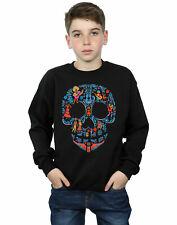 Disney niños Coco Skull Pattern Camisa De Entrenamiento