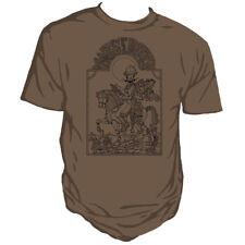 Genki Gear Robert Rankin Marte Para Chicos Steampunk Nouveau marrón Unisex Camiseta
