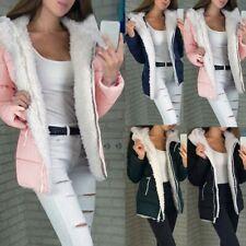 Fashion Women Winter Thicken Coats Long Sleeve Warm Jacket Outerwear Zipper Coat