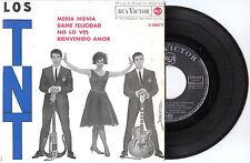 1963 DISCO 45 GIRI DEI 'LOS TNT' CON 4 CANZONI DEL GRUPPO ITALO URUGUAIANO