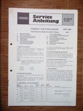 Service Manual Grundig RTV 720   HiFi-System,ORIGINAL