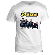 Impractical Jokers USA 00s Mens Cult Classic TV Film Movie GREY T Shirt