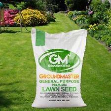 GroundMaster General Purpose Garden Premium Back Lawn Grass Seed Various Sizes
