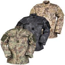 US Feldjacke ACU mandra tarn S-XXL Army Jacke snake carmo Feldhemd schlangentarn