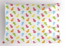 Pineapple Pillow Sham Decorative Pillowcase 3 Sizes Available for Bedroom Decor