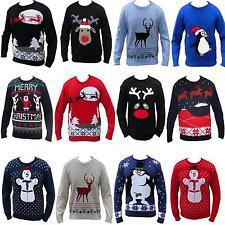 Navidad Jersey Grosero Gracioso Hombre Mujer Novedad Suéter De Punto
