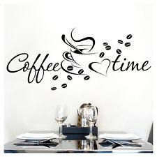Deko-Wandtattoos & -Wandbilder mit dem Thema Kaffee für die ...