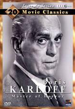 Boris Karloff Collection 20 Movie Pack DVD