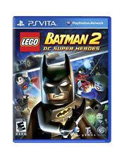 NEW! LEGO Batman 2: DC Super Heroes (PSVITA Sony PlayStation Vita, 2012) NEW!