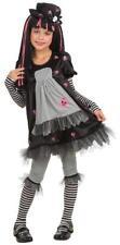 Goth Doll-ista Gothic Rag Doll Raggedy Ann Fancy Dress Halloween Child Costume