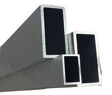 Alu Rechteckrohr Alu Vierkantrohr / Aluminium Alu Quadrat Länge 500mm - 2000mm