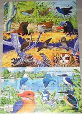 Solomon Salomon Isl. 2004 blocco 76-78 S/S 983-85 bird life Intl fauna uccelli Mnh