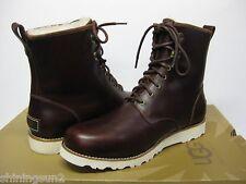 UGG Hannen Mens Cordovan Leather Boot US8/UK7/EU40.5/JP26