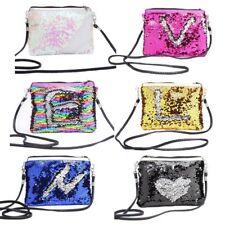 Women Glitter Sequin Small Handbag Makeup Bags Crossbody Shoulder Bag Coin Purse