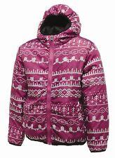 Rrp £ 50 Filles DARE2B Isolé Réversible désinvolture veste tailles 3-12yrs