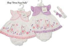 Dress Set with Pants - 3pc Little Kitty Mock Bolero/Shrug Pink/Lilac Summer Baby