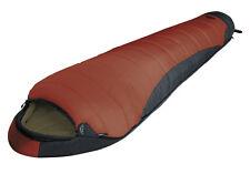 lestra Mont Blanc XL-Version (Länge 225 cm) Mumienschlafsack ziegelrot-anthrazit
