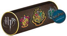 New Harry Potter Crests Pencil case Official Hogwarts Gift Stationery School UK