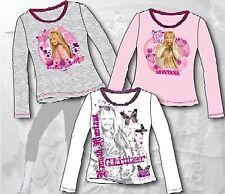 Hannah Montana / Miley Cyrus 2er Pack Einzelstücke Langarmshirt 116, 140, 152