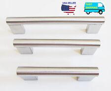 Stainless Steel Pull Kitchen Cabinet Hardware Handle Cupboard Drawer Knob 6008