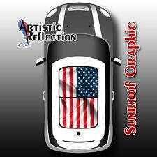 US Flag Sunroof Graphic for MINI Cooper R50, R53, R56, R55, R60, R61, F56
