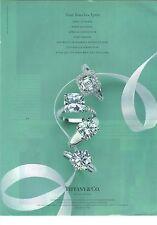 """PUBLICITE  2008  TIFFANY & CO bijoux """"pour tous les aprés"""""""