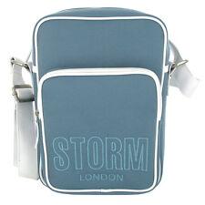 STORM Denim Look Luxury Satchel Bag / Messenger Bag / Across Body Bag