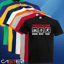 Camiseta triathlon corre nada bici bike bicileta run swim  (ENVIO 24/48h)