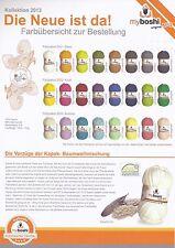 (5,80€/100gr) 50 gr myboshi Wolle No 2 - das Sommergarn - Baumwolle + Kapok